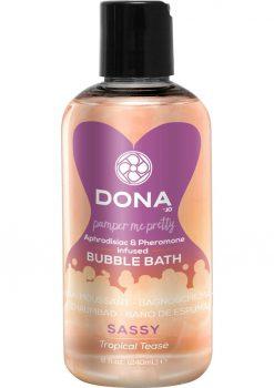 Dona Bubble Bath Tropical Tease 8oz
