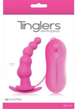Tinglers Vibrating Silicone Plug I Pink