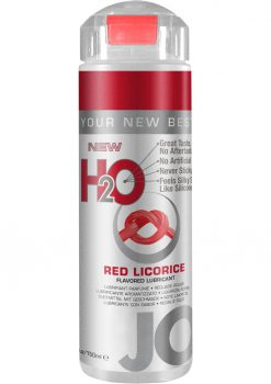 Jo H2o Lubricant 5.25 Oz Red Licorice