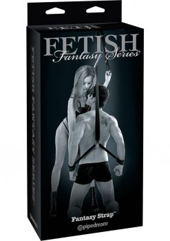 Fetish Fantasy Fantasy Strap Tether Black 8 Feet