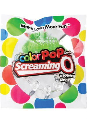 Color Pop Quickie Screaming O Green