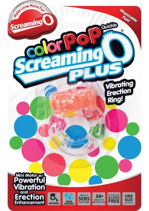 Color Pop Quickie Scream Plus Orange