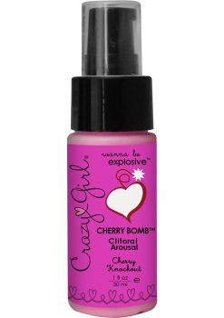 Crazy Girl Cherry Bomb Cherry 1oz Pump