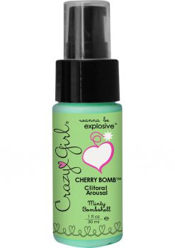 Crazy Girl Cherry Bomb Minty 1oz Pump