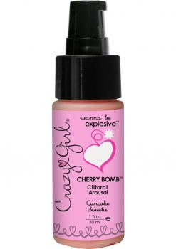Crazy Girl Cherry Bomb Cupcake 1oz
