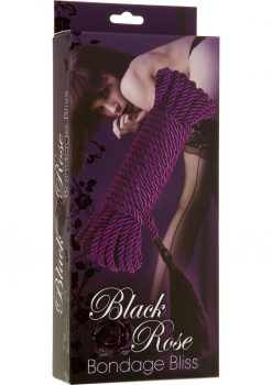Black Rose Bondage Bliss Purple