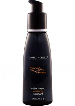 Wicked Aqua Heat Warming Lube 2oz