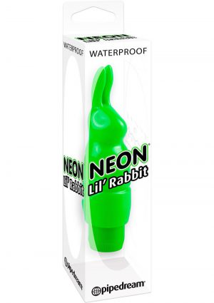 Neon Lil Rabbit Green