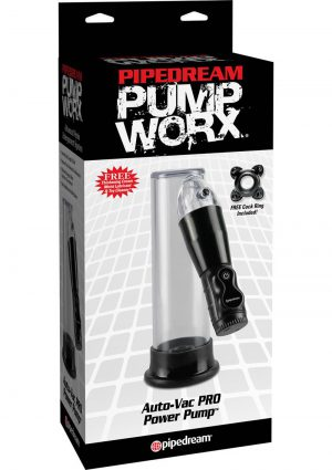 Pump Worx Auto Vac Pro Power Penis Pump