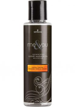 Me and You Massage Oil Sugar and Citrus 4.2
