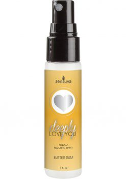 Deeply Love Throat Spray Butter Rum 1oz