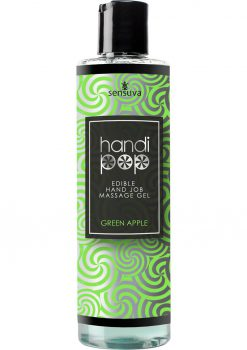 Handipop Massage Gel Green Apple 4.2oz