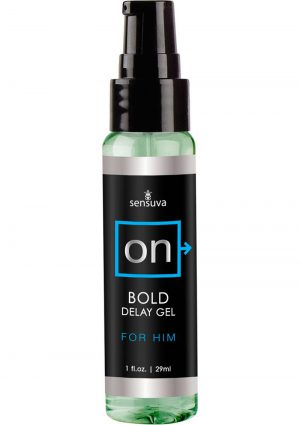 On Bold Delay Gel For Him 1 Ounce