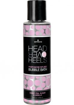 Head Over Heels Bubble Bath Vanilla 8oz