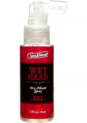 Goodhead Wet Head Dry Mouth Spray Juicy Apple 2 Ounce