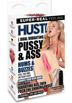 Hustler Memphis Monroe Dual Vibrating Pussy and Ass