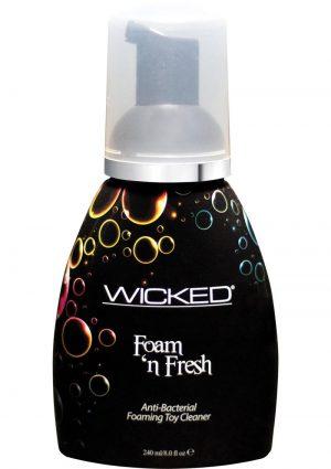 Wicked Foam N` Fresh Anti Bacterial Foaming Toy Cleaner 8 Ounce