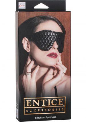 Entice Blackout Eyemask