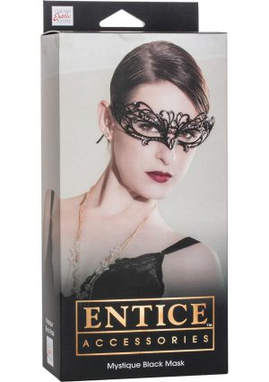 Entice Mystique Black Mask