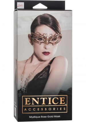 Entice Mystique Rose Gold Mask