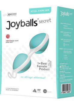Joyballs Secret Dual Silicone Kegel Exerciser Mint And White