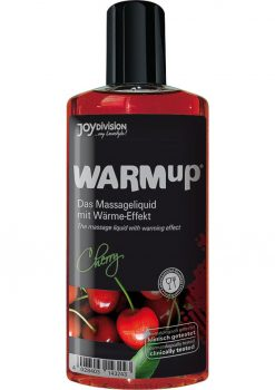 Warm Up Flavored Massage Oil Cherry 5.07 Ounce