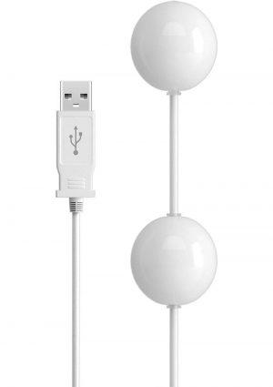 Isex USB Kegal Balls White