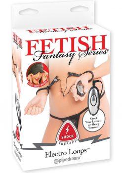 Fetish Fantasy Remote Control Shock Therapy Electro Loops Adjustable Bands