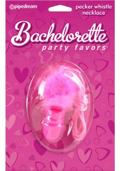 Bachelorette Party Pecker Whistle Necklace