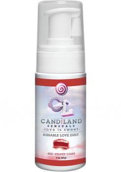Candiland Kissable Body Dust Red Velvet