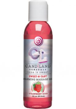 Candiland Sweetntart Warm Gel Strawberry
