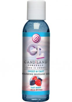 Candiland Sweetntart Warm Gel Tart Berry