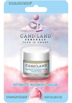 Candiland Warming Balm Cotton Candy