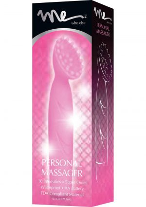 Me Brush Silicone Personal Massager Waterproof Pink