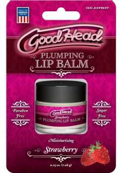 Good Head Plumping Lip Balm Strawberry