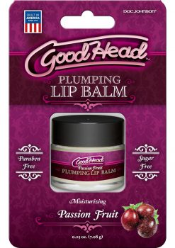 Good Head Plumping Lip Balm Passion Frui