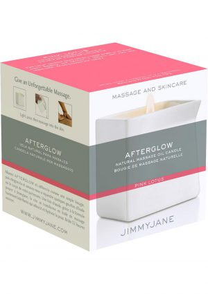 Afterglow Massage Candle Pink Lotus