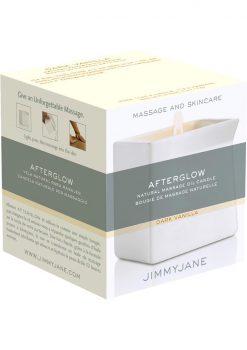 Afterglow Massage Candle Dark Vanilla