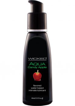 Wicked Waterbased Candy Apple Lube 2oz