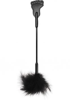 Toe Tickler Feather Black