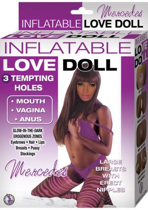 Inflatable Love Doll Mercedes Brown