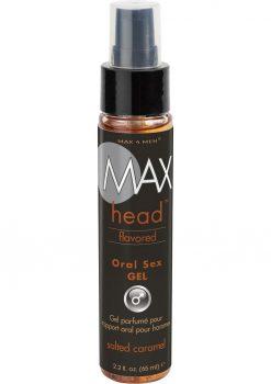 Max Head Oral Gel 2.2oz Salted Carmel