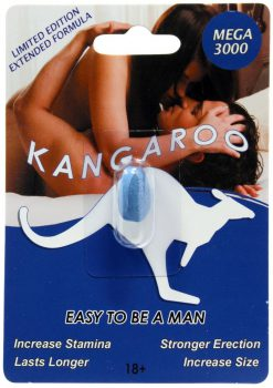 Kangaroo Mega 3000 Enhancement Pill For Him 1 Pill Pack
