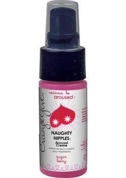 Crazy Girl Naughty Nipples Arousal Creme Sugar Berry 1 Ounce