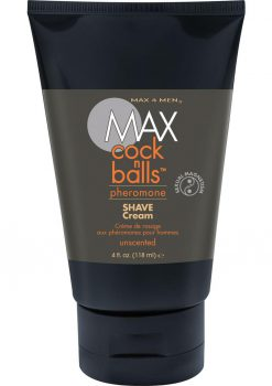 Max Cock N Balls Pheromone Shave Cream 4 Ounce