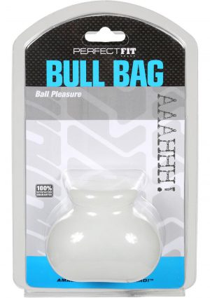 Perfect Fit Bull Bag Ball Pleasure Clear