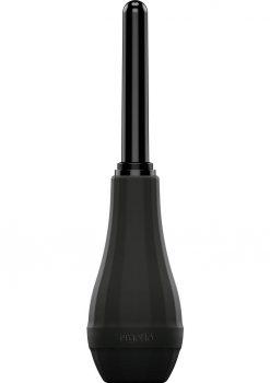 Perfect Fit Ergoflo Extra Premium Tip Anal Douche Plastic Tip Black 5 Inch