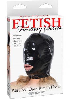 Fetish Fantasy Wet Look Open Mouth Hood