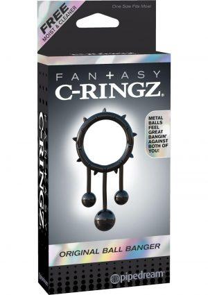 Fantasy C Ringz Original Ball Banger Cockring Black
