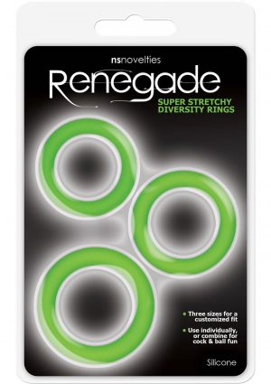 Renegade Diversity Rings Green